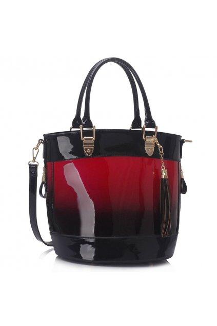 Shopper kabelka do ruky Ally bordová LS00321A