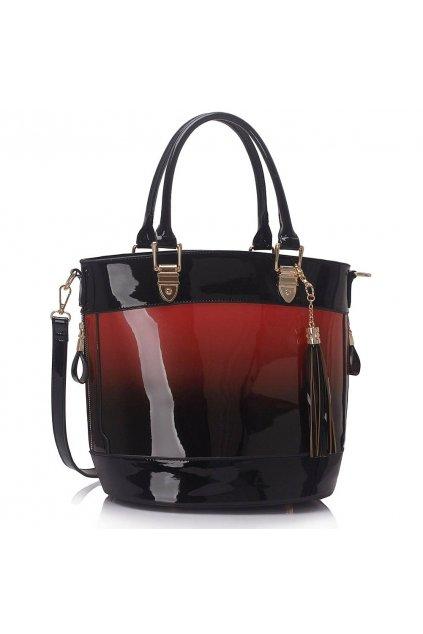 Shopper kabelka do ruky Ally červená LS00321A