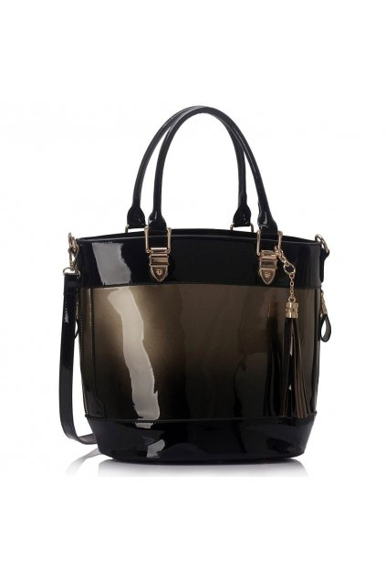 Shopper kabelka do ruky Ally sivá LS00321A