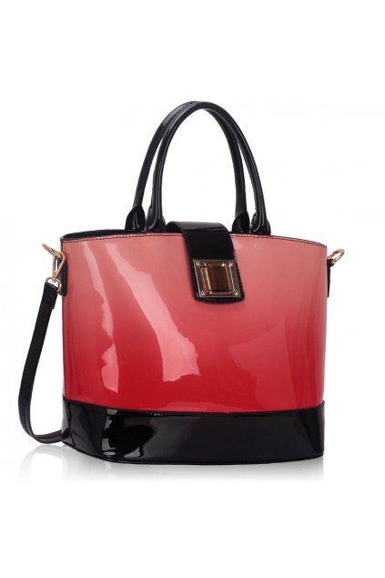 Shopper kabelka do ruky Anna korálová LS00329