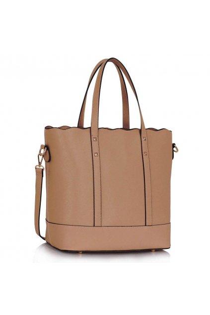 Shopper kabelka do ruky Aurora telová LS00361