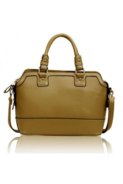Shopper kabelka do ruky Belinda zhnedá LS00157