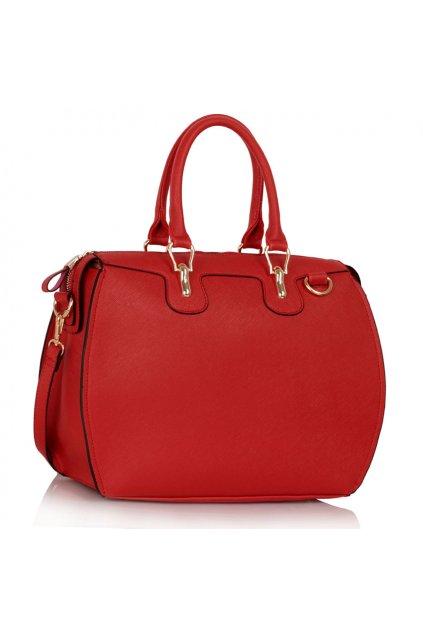 Shopper kabelka do ruky Clementine červená LS0099A