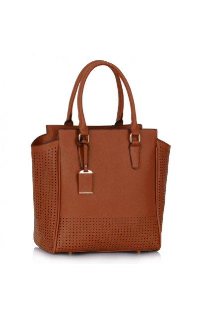 Shopper kabelka do ruky Darlyne hnedá LS00249A