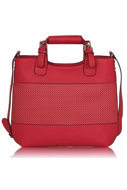 Shopper kabelka do ruky Delia C fuchsia LS00268A