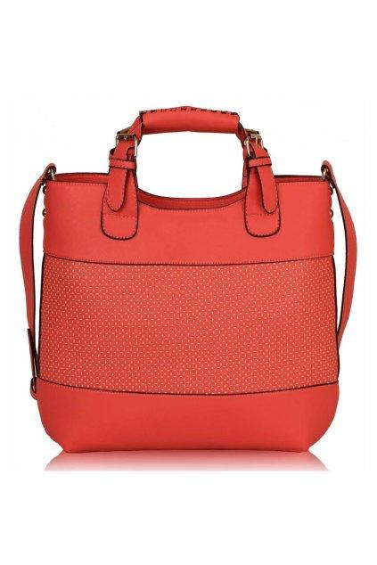 Shopper kabelka do ruky Delia C ružová LS00268A