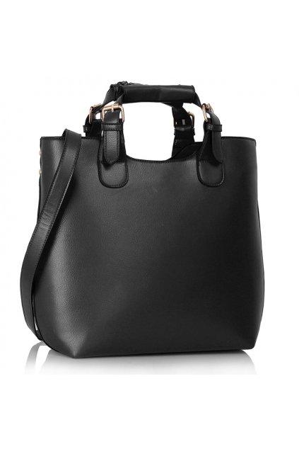 Shopper kabelka do ruky Delia čierna LS00267