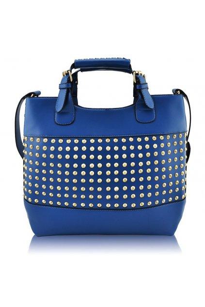 Shopper kabelka do ruky Delia E modrá LS00106A