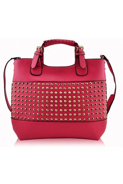 Shopper kabelka do ruky Delia E ružová LS00106A