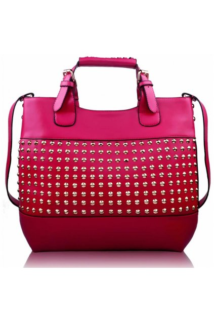 Shopper kabelka do ruky Delia F fuchsia LS00106