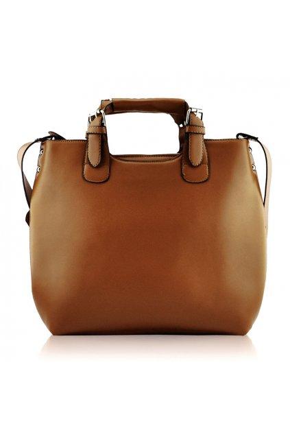 Shopper kabelka do ruky Delia zhnedá LS00267