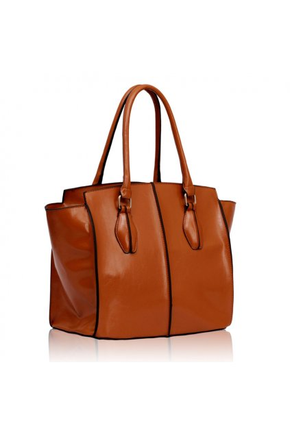 Shopper kabelka do ruky Denny hnedá LS00203