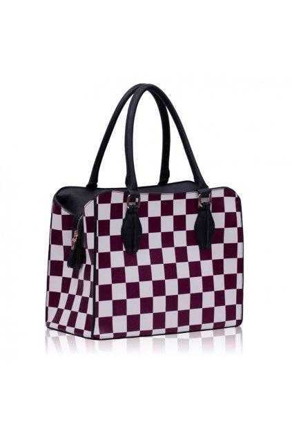 Shopper kabelka do ruky Dolly fialová LS00145