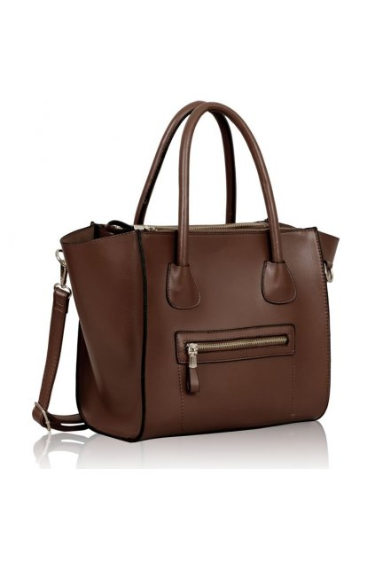 Shopper kabelka do ruky Francy hnedá LS00137
