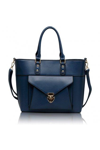 Shopper kabelka do ruky Henrietta námornícka LS00181
