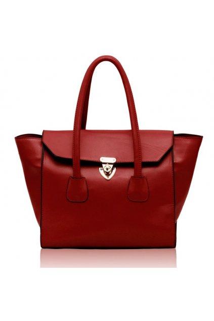 Shopper kabelka do ruky Hope červená LS00183