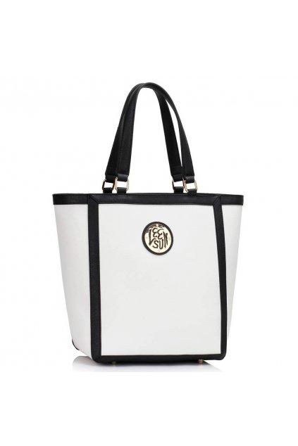 Shopper kabelka do ruky Chatty biela