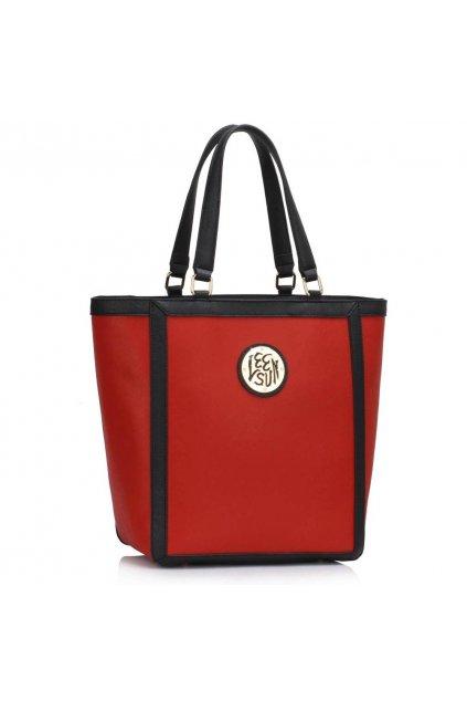 Shopper kabelka do ruky Chatty červená