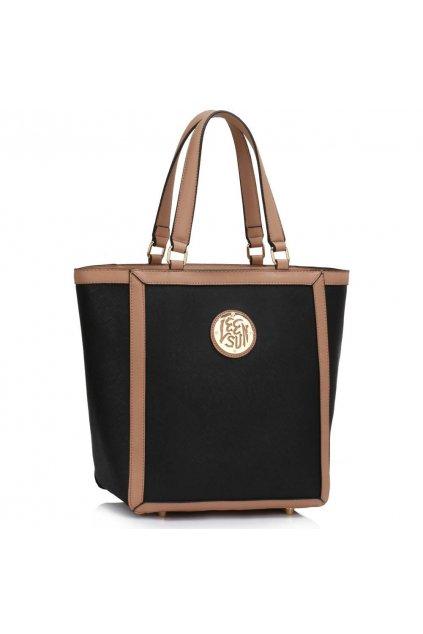 Shopper kabelka do ruky Chatty čierna