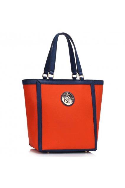Shopper kabelka do ruky Chatty oranžová