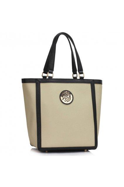 Shopper kabelka do ruky Chatty sivá