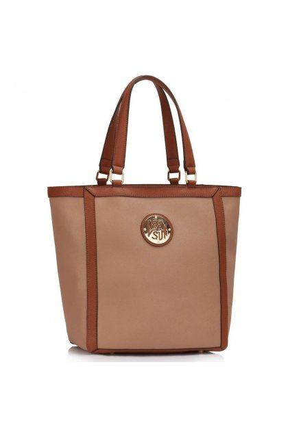 Shopper kabelka do ruky Chatty telová LS00401