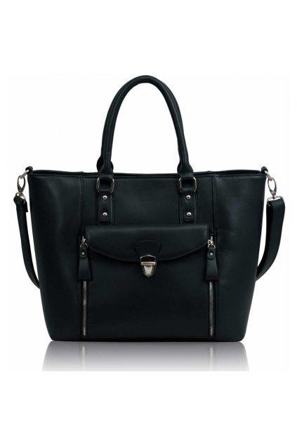 Shopper kabelka do ruky Janice námornícka LS00170A