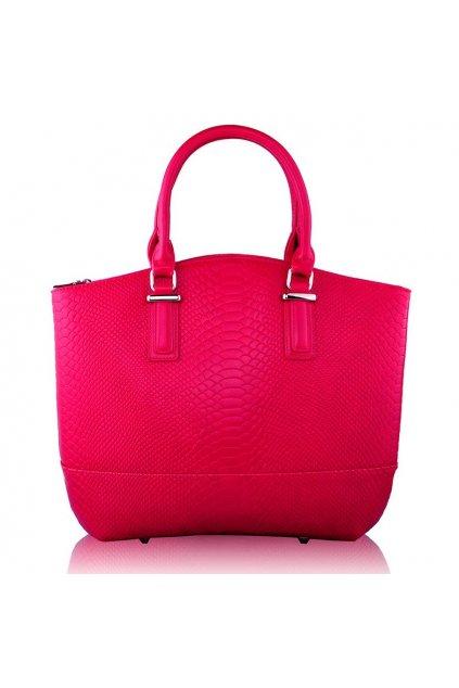 Shopper kabelka do ruky Kristina ružová LS00104