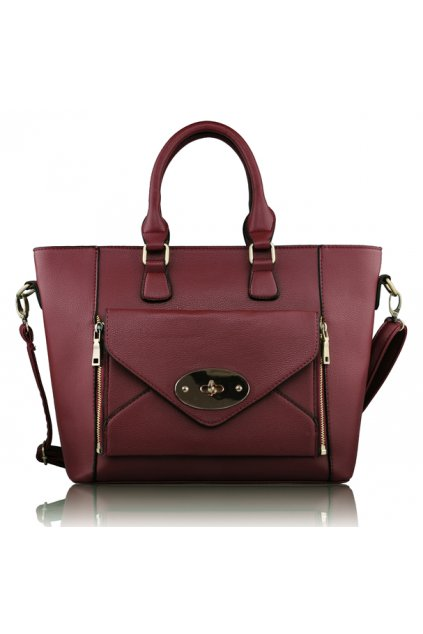 Shopper kabelka do ruky Laureen Purple LS0021