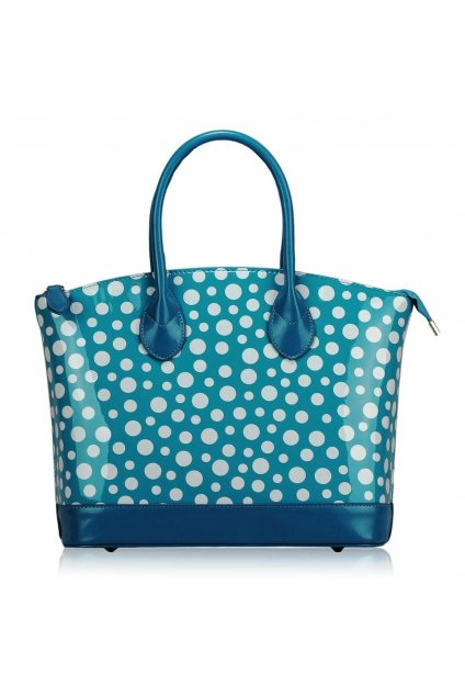 Shopper kabelka do ruky Laurie stredomorská LS00282