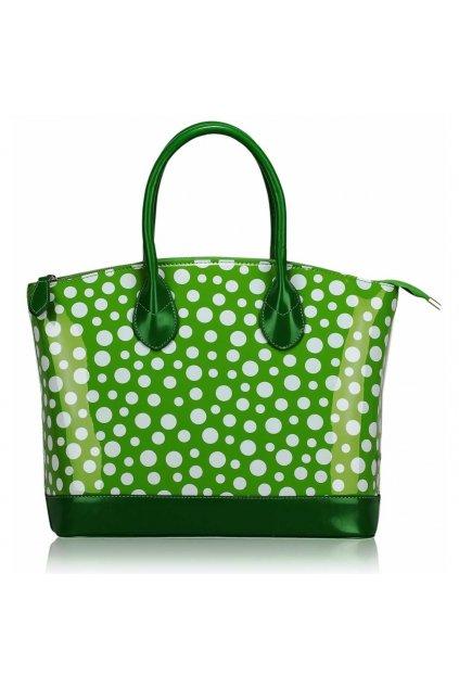 Shopper kabelka do ruky Laurie zelená LS00282