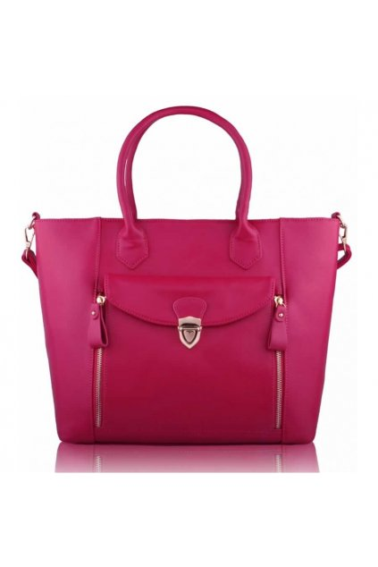 Shopper kabelka do ruky Leigh ružová LS00170