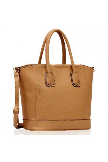 Shopper kabelka do ruky Lena telová LS0090A