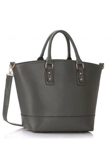 Shopper kabelka do ruky Loran B sivá LS0085B