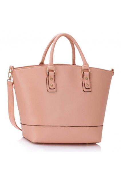 Shopper kabelka do ruky Loran B telová LS0085B