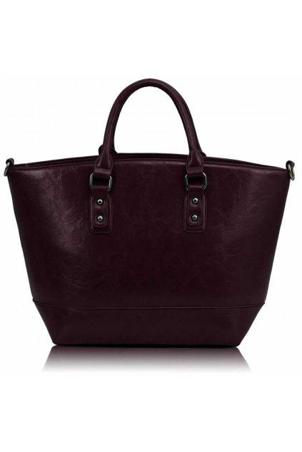 Shopper kabelka do ruky Loran fialová A LS0085A