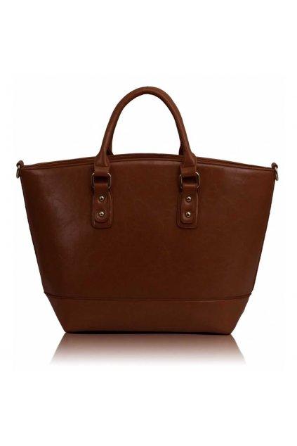 Shopper kabelka do ruky Loran hnedá A LS0085A