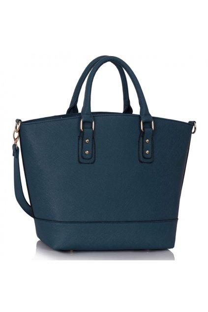 Shopper kabelka do ruky Loran námornícka LS0085
