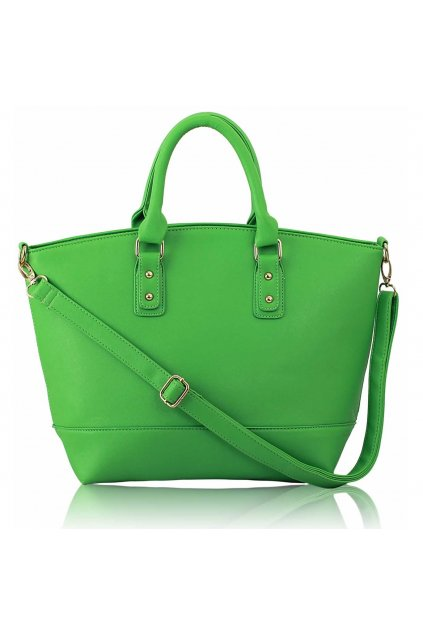 Shopper kabelka do ruky Loran zelená A LS0085A