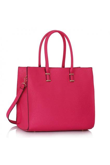 Shopper kabelka do ruky Monica ružová LS00319
