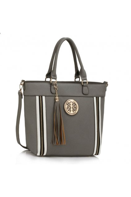 Shopper kabelka do ruky Tessie sivá LS00404