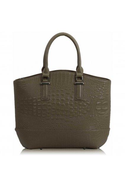 Shopper kabelka do ruky Tony telová LS00104C