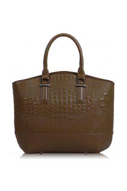 Shopper kabelka do ruky Tony zhnedá LS00104C