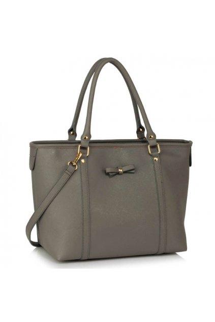 Shopper kabelka Mariette sivá LS00507
