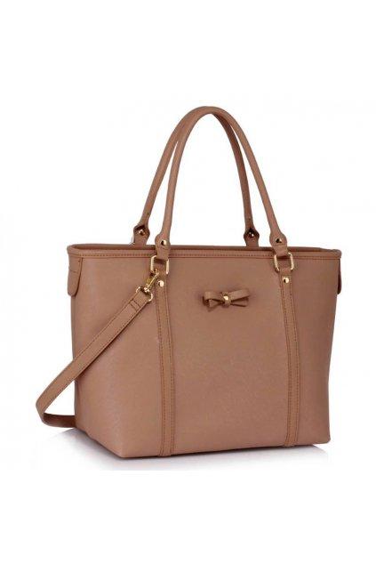 Shopper kabelka Mariette telová LS00507
