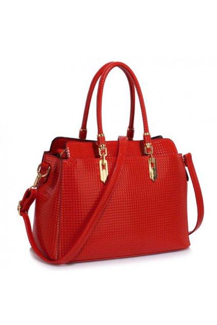 Trendová kabelka do ruky Adele červená LS00418A