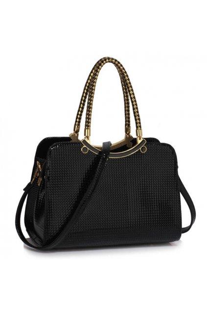 Trendová kabelka do ruky Cory čierna AG00395a