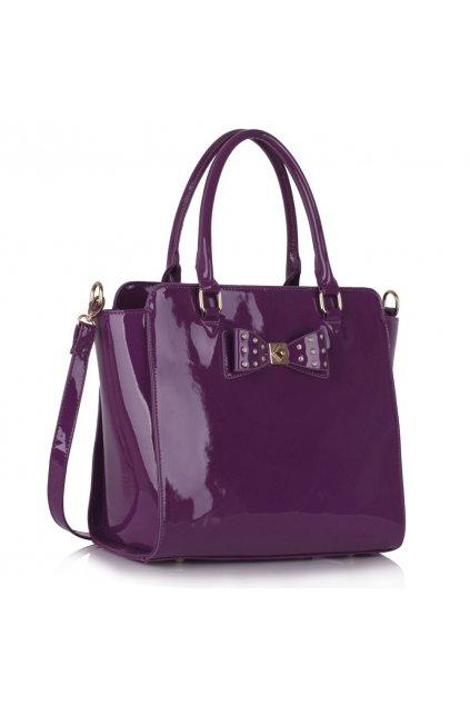 Trendová kabelka do ruky Della fialová LS00386