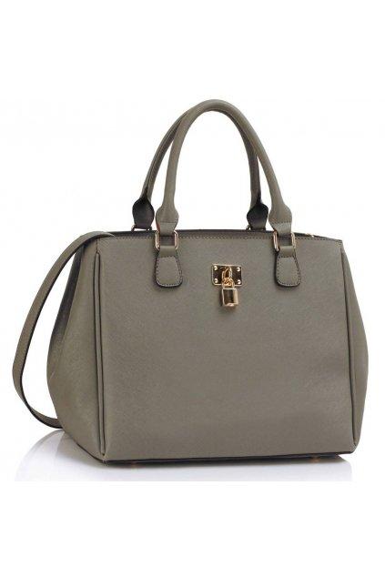 Trendová kabelka do ruky Janis sivá LS00410