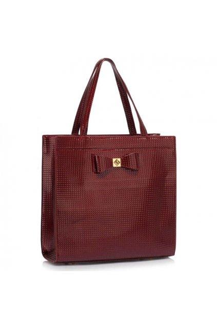 Trendová kabelka do ruky Lisa A bordová LS00383a